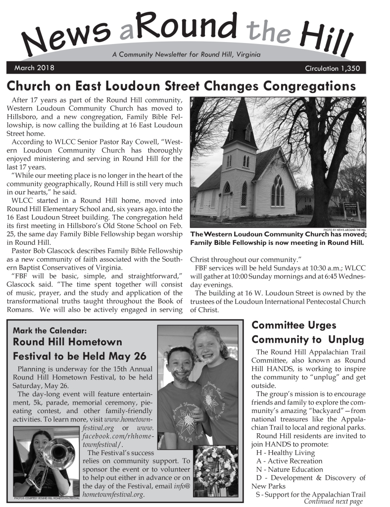 news around the hill 2018-03 page 1