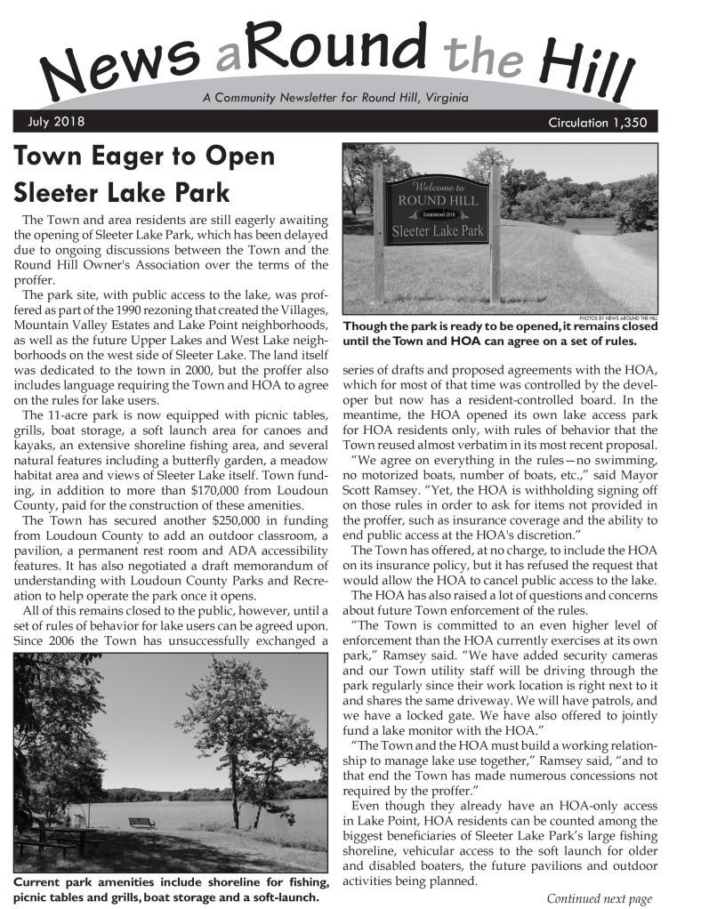 news around the hill 2018-07